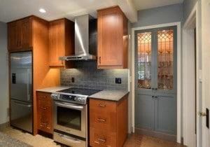 kitchen reno - stove view